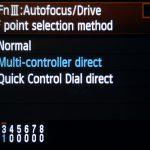 5D Mark II Custom Functions